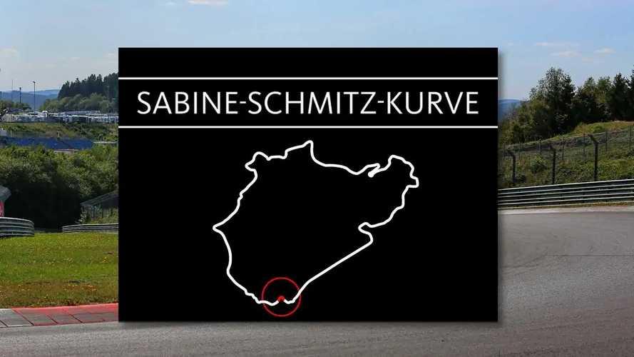 Le nom de Sabine Schmitz donné à l'un des virages du Nürburgring