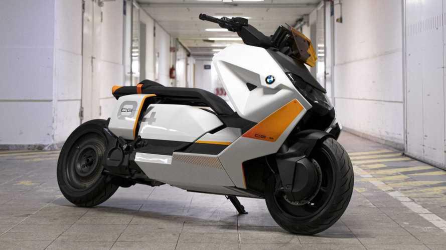 Scooter elétrico da BMW adianta visual definitivo em imagens vazadas