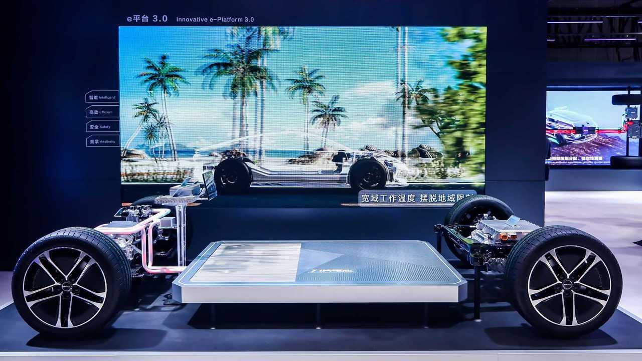 BYD stell neue Elektro-Plattform mit 800-Volt-Technik vor