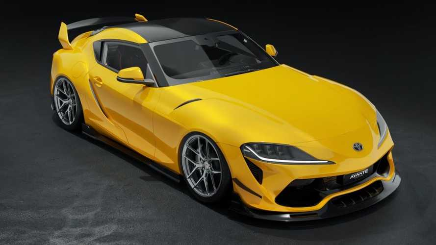 Toyota Supra Gets A Radical Body Kit From Avante Design