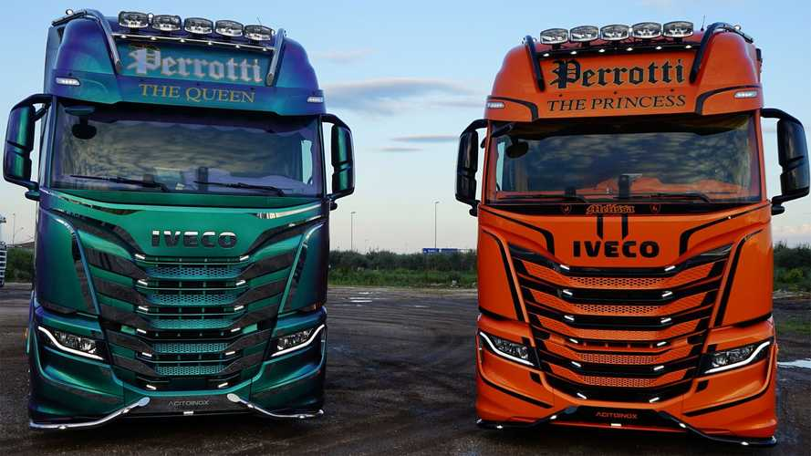 Iveco S-Way The Queen e The Princess i nuovi decorati di Perrotti