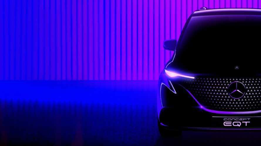 Mercedes-Benz EQT EV Minivan Teased Ahead Of May 10 Reveal