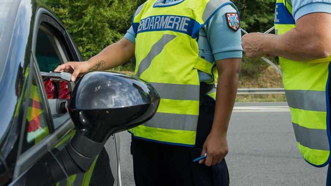 Contrôle gendarmerie ethylostest