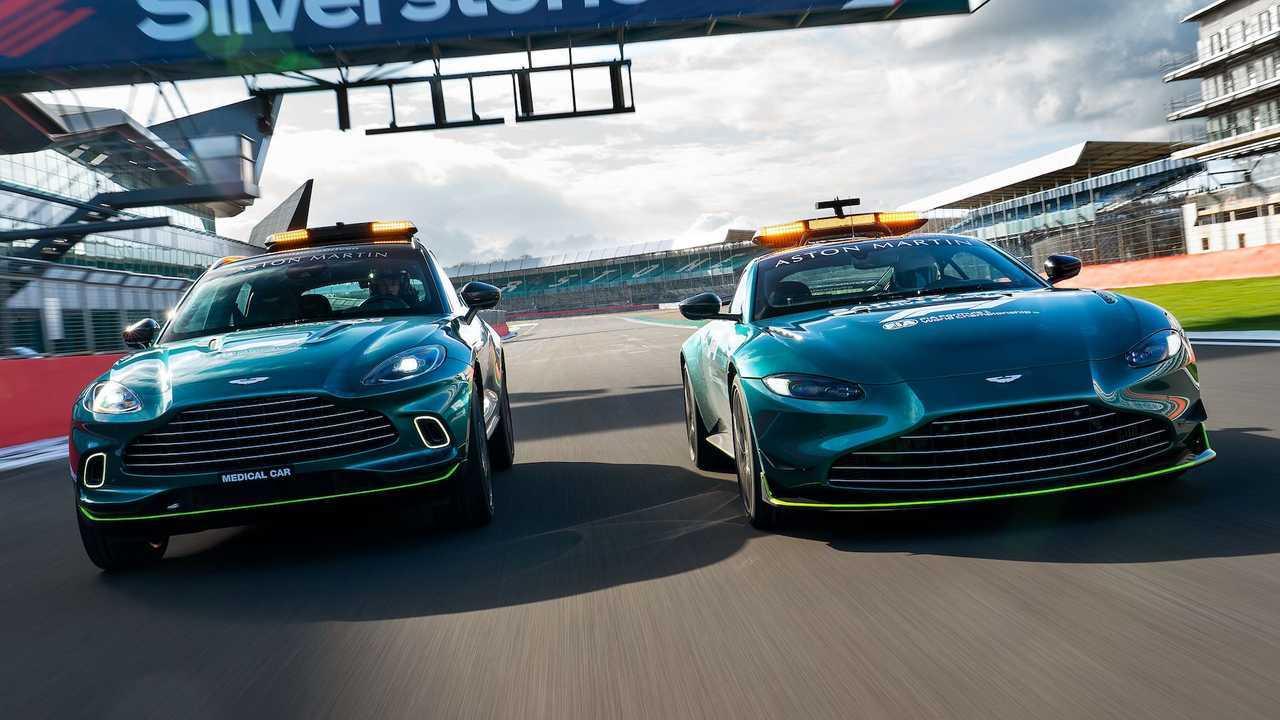 Сейфти-кар Aston Martin для нового сезона Формулы 1
