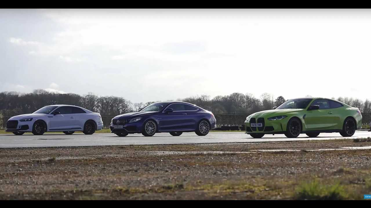 BMW M4 Vs. Mercedes-AMG C63 Vs. Audi RS5
