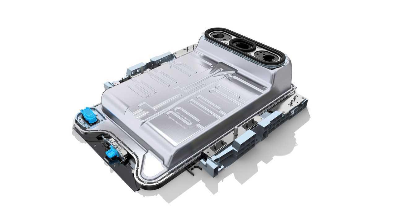 La batteria di un'auto elettrica Renault