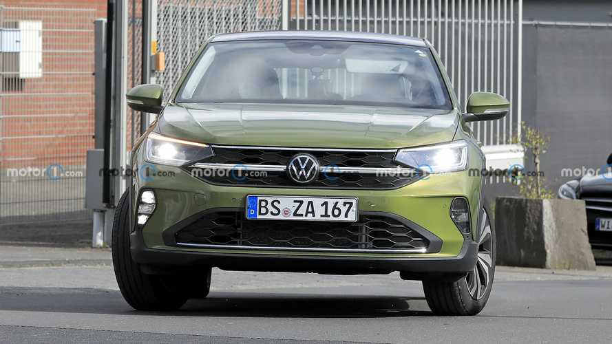 VW Taigo Spy Photos