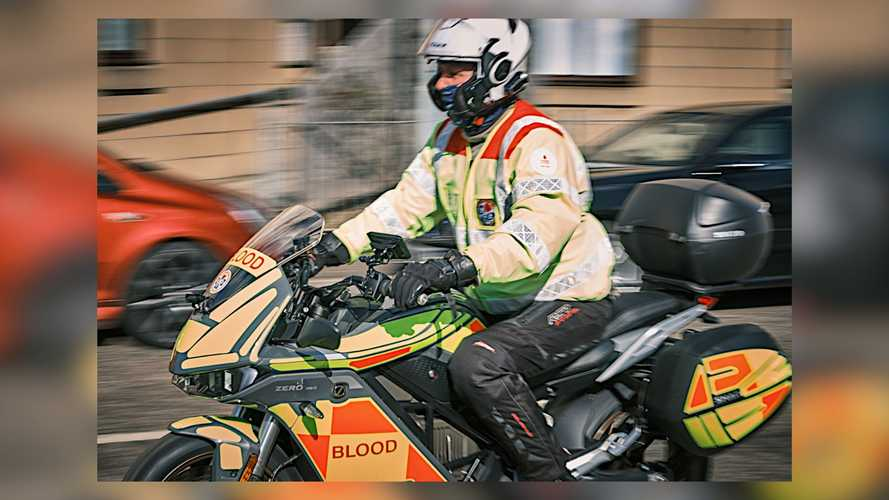 Blood Bikes Scotland's Zero SR/S