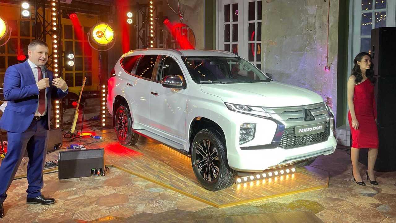 Российская премьера обновленного Mitsubishi Pajero Sport
