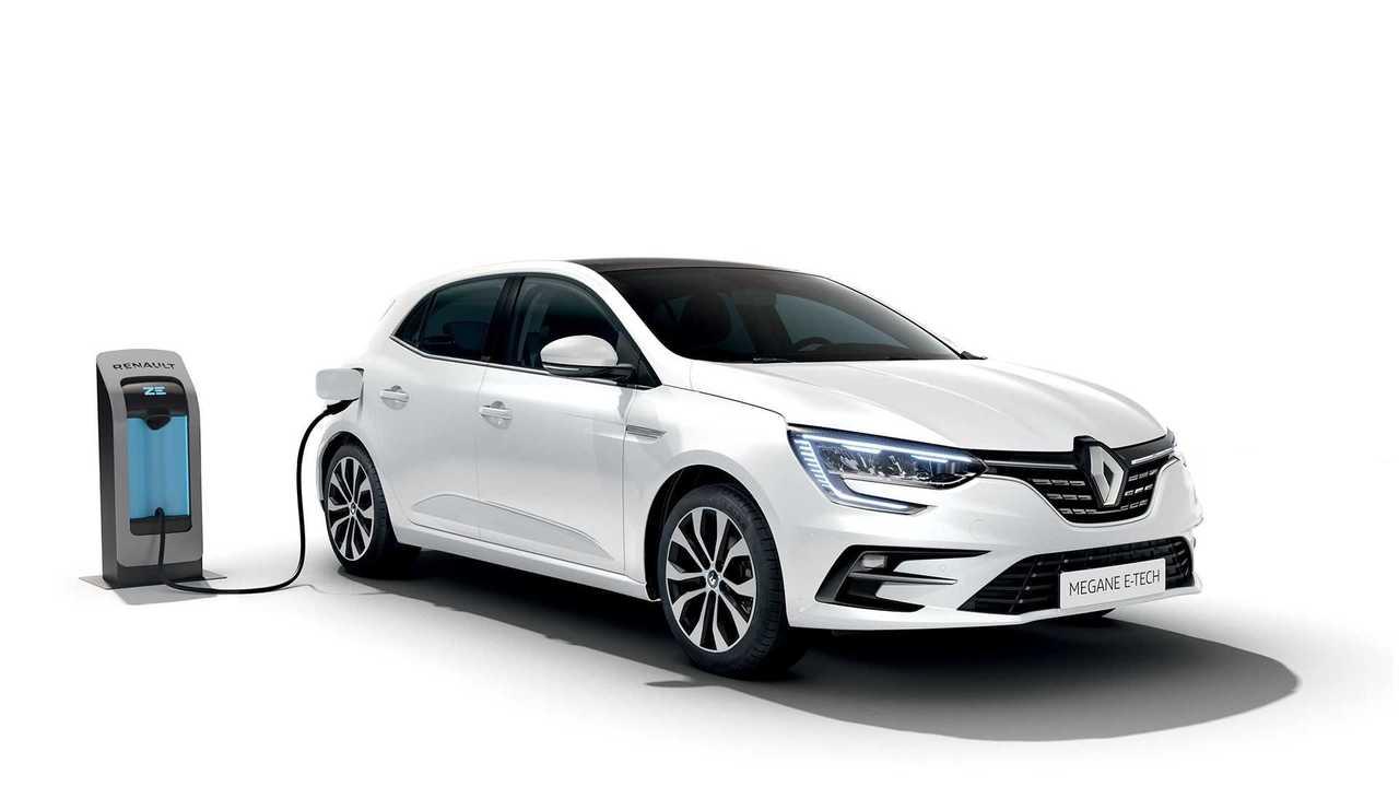 Renault Megane Fünftürer mit Plug-in-Hybrid