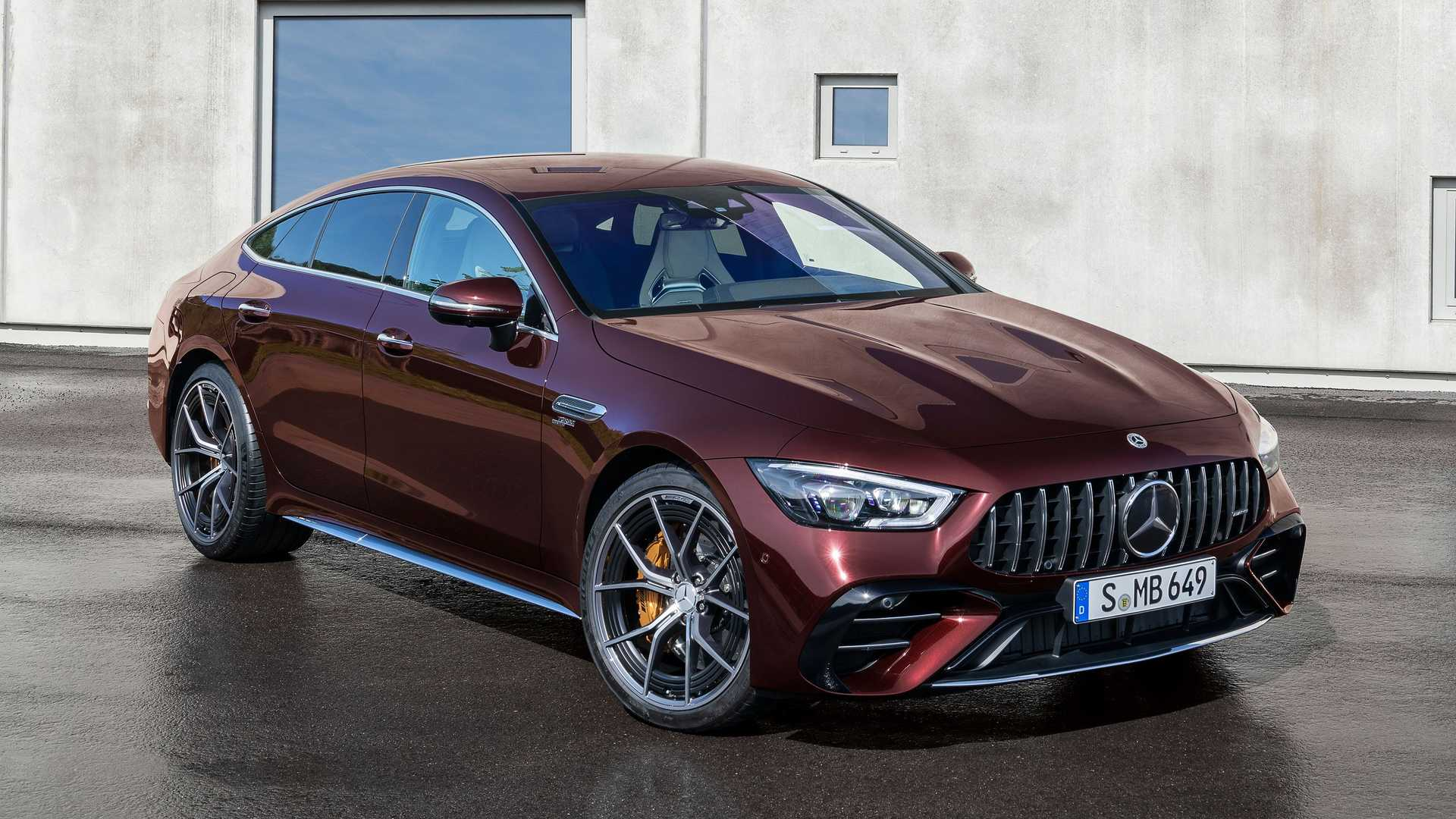 2022 Mercedes-AMG GT 4-Door Sharpens Up With Fresh Cabin, Special Trim