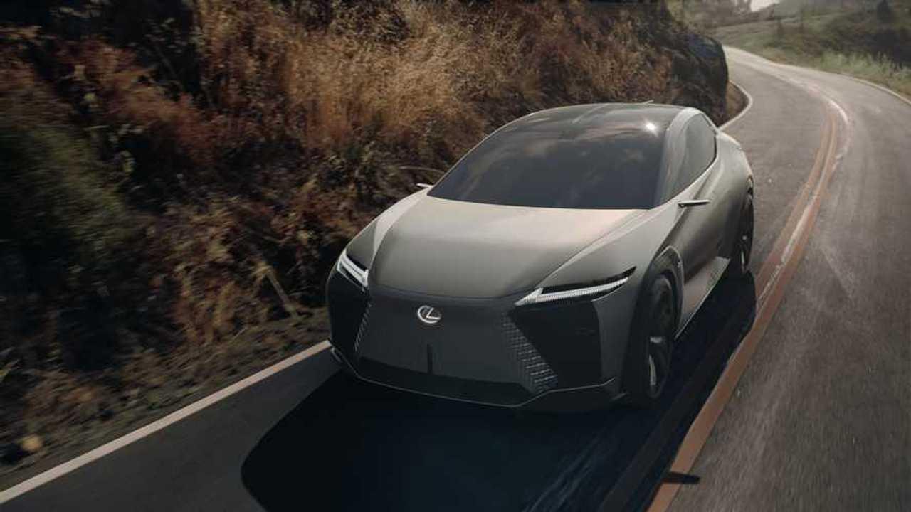 Lexus раскрыл дизайн будущих электрокаров на примере концепта LF-Z
