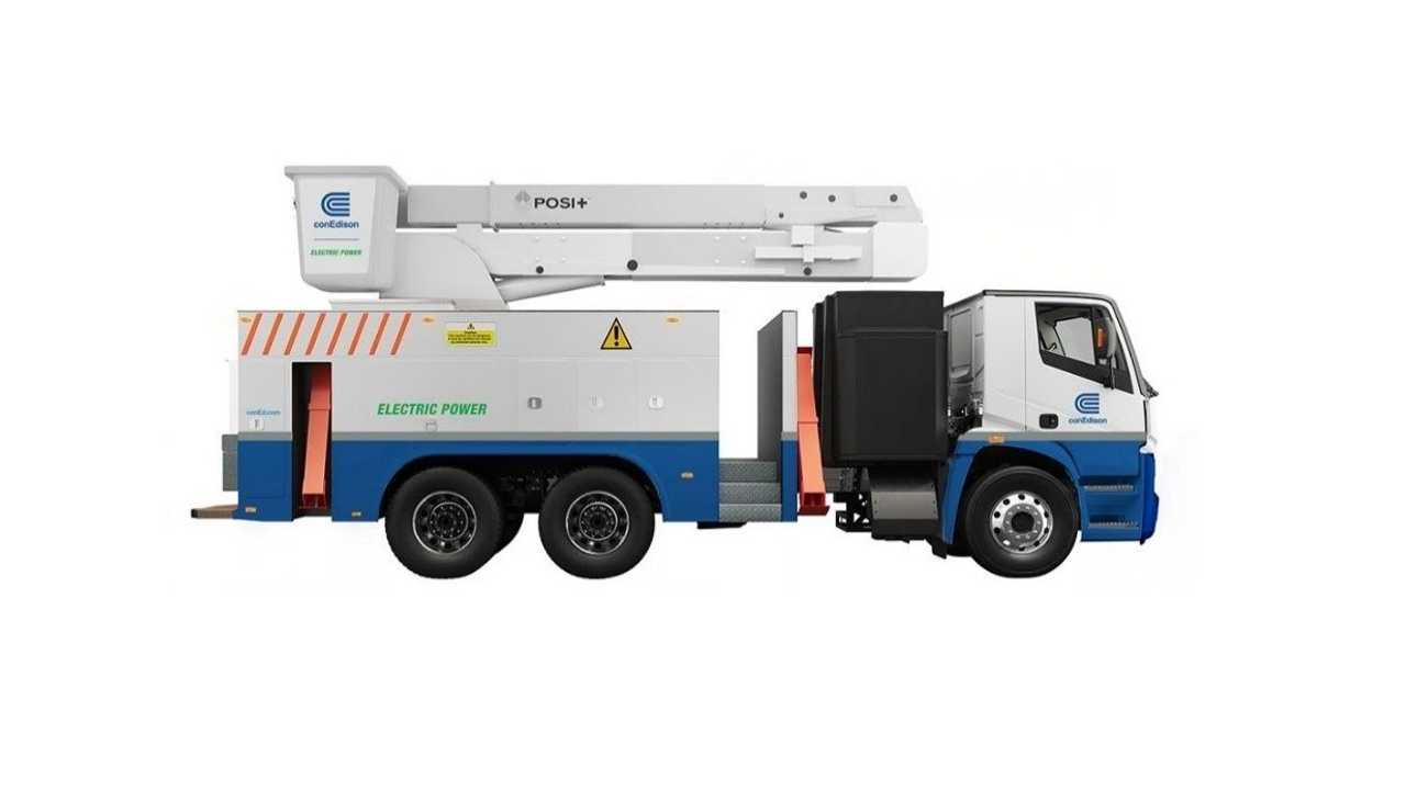 Lion8 - Bucket Truck for Con Edison