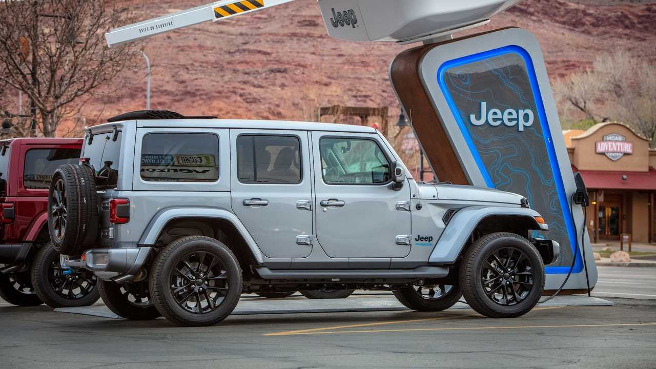 Jeep 4xe Charging Stations