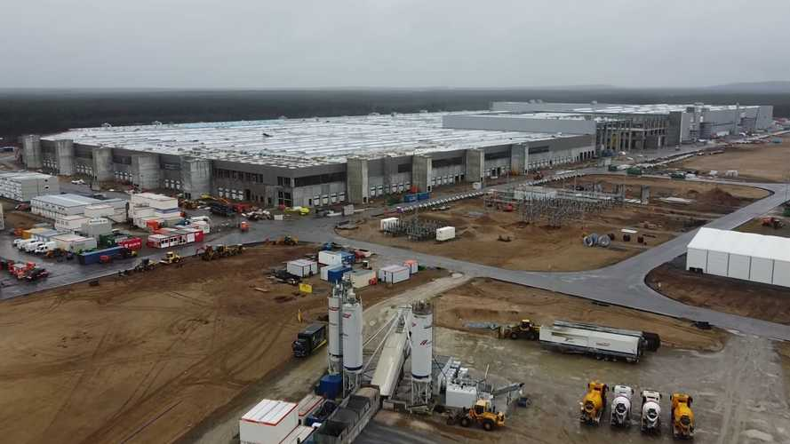 The Main Tesla Giga Berlin Complex Looks Close To Completion