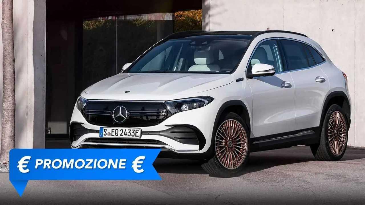 Promozione Mercedes EQA in leasing