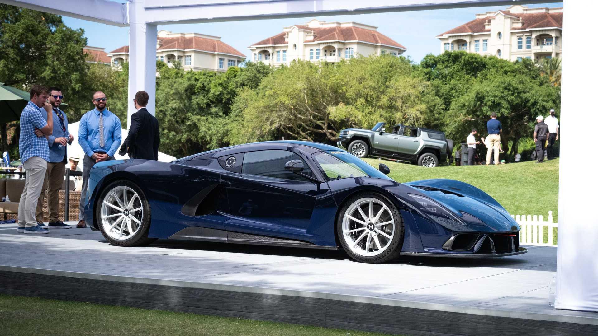 2021 Hennessey Venom F5 At Amelia Island Concours d'Elegance