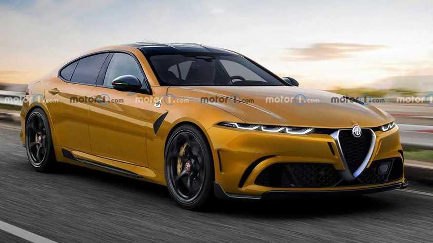 Alfa Romeo'dan BMW i4'e rakip mi gelecek?