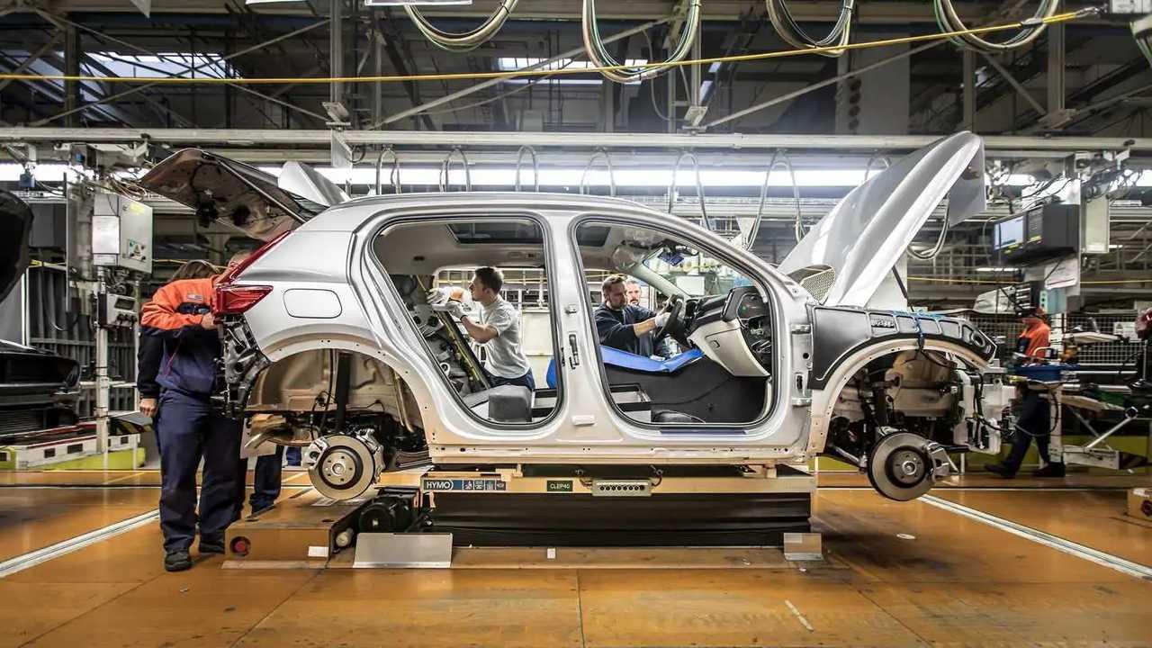 Volvo fabrika üretim