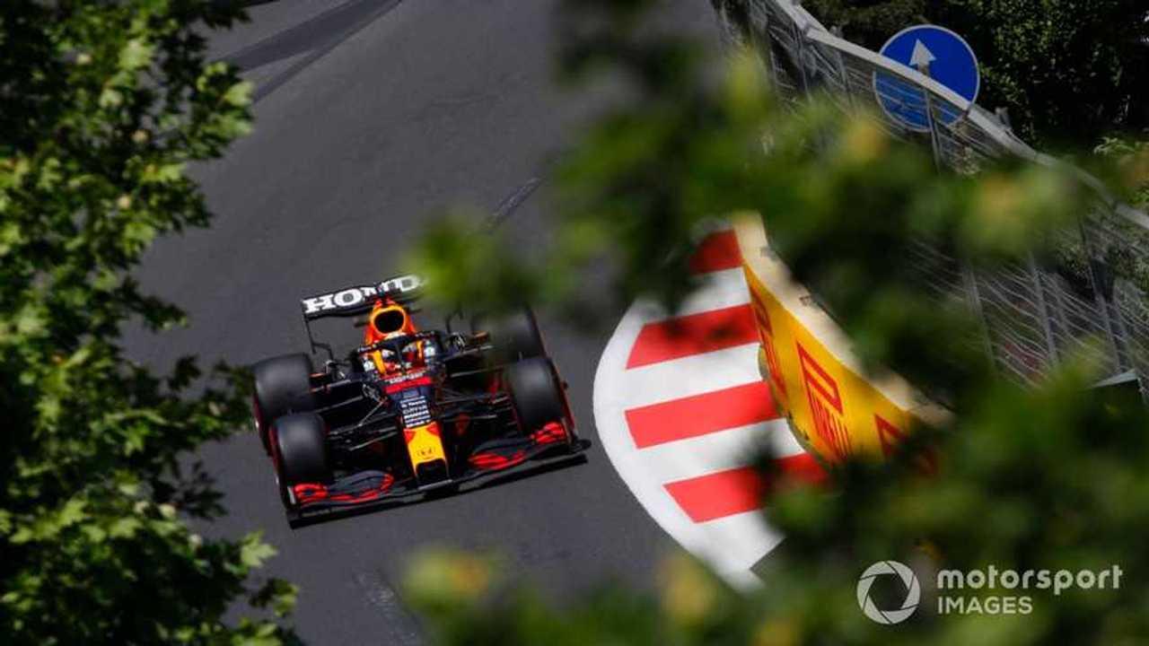Max Verstappen at Azerbaijan GP 2021