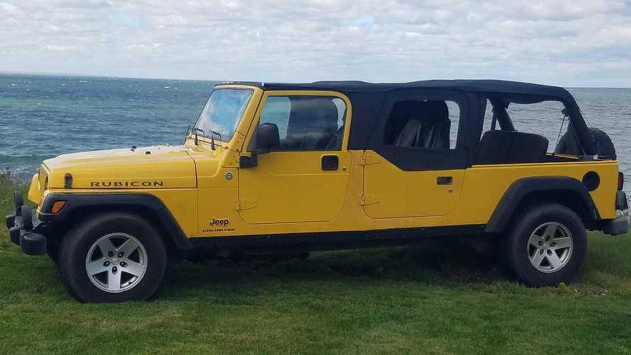 Удлиненный Jeep Wrangler
