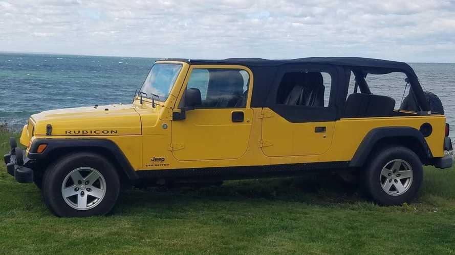 Из старого Jeep Wrangler TJ сделали то ли лимузин, то ли пикап