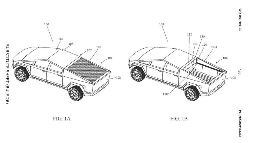 Tesla Cybertruck's Photovoltaic Bed Cover Could Add Usable Range