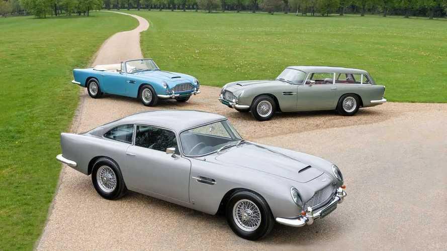 Tre rare Aston Martin DB5 Vantage valgono quasi 5 milioni di euro