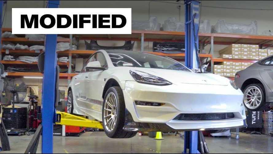 Matt Farah Drives An Unplugged Performance Tesla Model 3