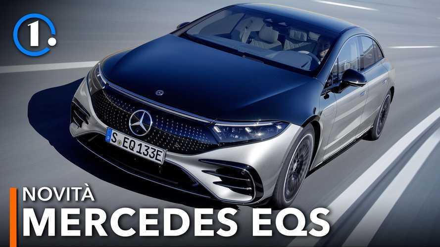Mercedes EQS, l'ammiraglia elettrica è arrivata e fa 770 km