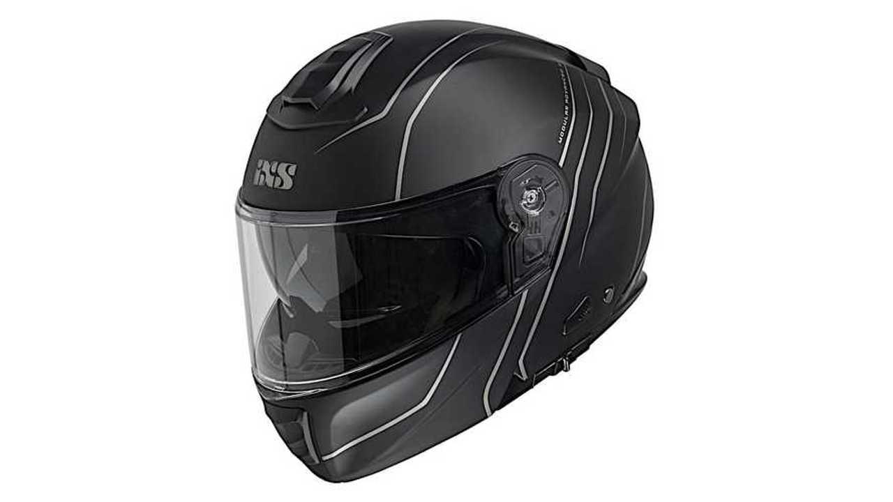 IXS Flip-Up Helmet iXS460 FG 2.0 Matt Black