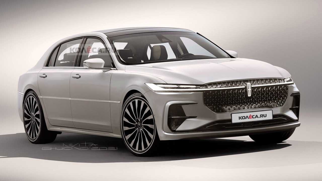 New Lincoln Town Car rendered for China