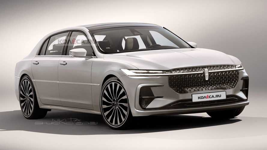 Lincoln Town Car Rendered As Production Version Of Zephyr Reflection