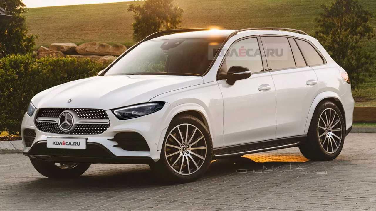 Yeni jenerasyon Mercedes-Benz GLC-Serisi'ne ait bir tasarım yorumu.
