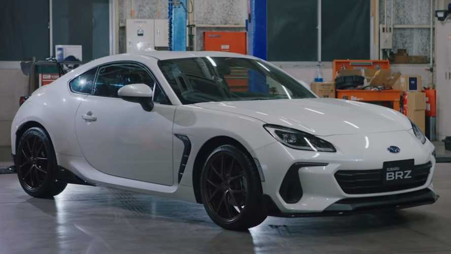 Subaru wanted to bring this STI-tuned 2022 BRZ to Tokyo Auto Salon