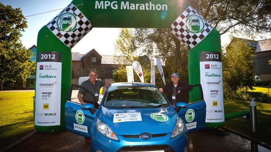 Ford Fiesta ECOnetic 1.6 TDCi wins mpg marathon, returns 108.78 mpg UK