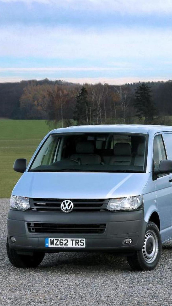 2013 Volkswagen Transporter BlueMotion 15.10.2012