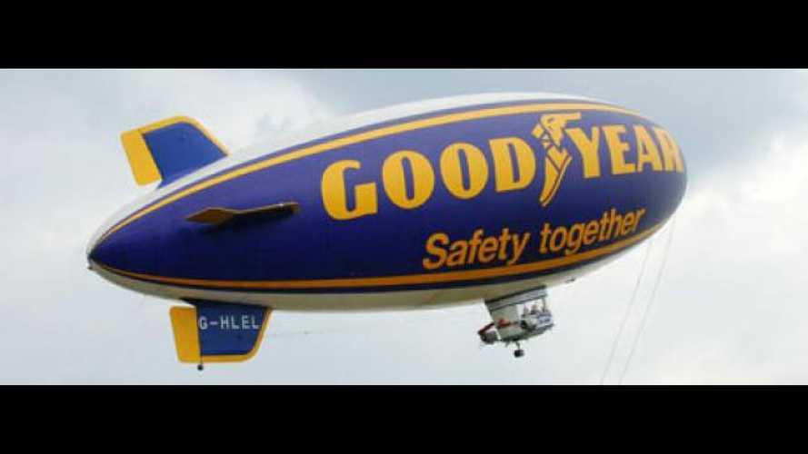 In volo sul dirigibile Goodyear
