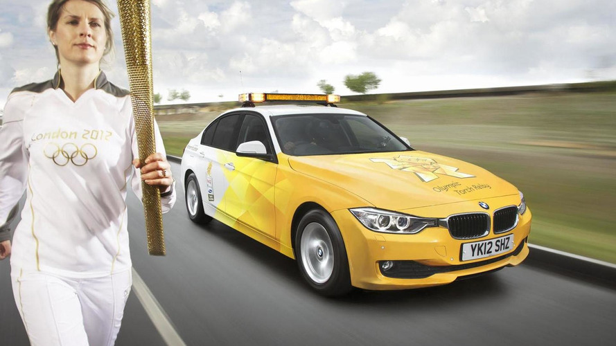 BMWs unveils their fleet for the 2012 Olympic games