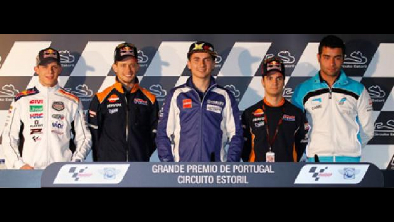 MotoGP 2012 Estoril: la conferenza stampa