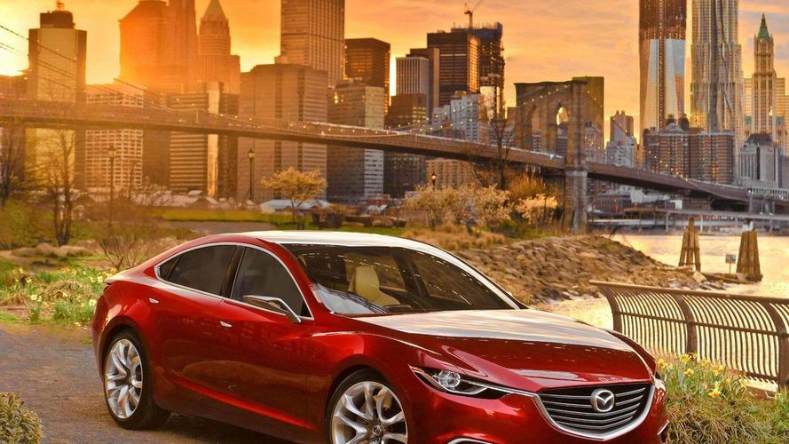 2014 Mazda6 to debut in Paris - market launch Q1 2013