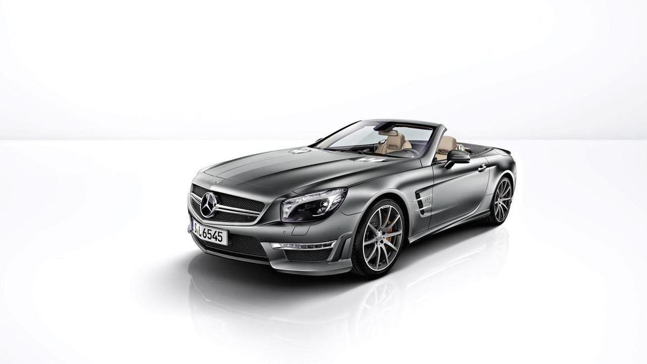 Mercedes SL 65 AMG 45th anniversary edition 04.4.2012