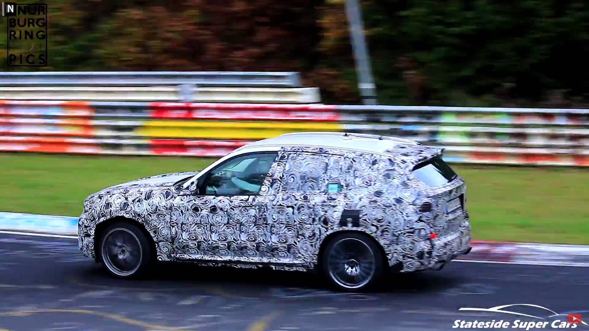 Watch The 2019 BMW X3 M Go Berserk At Ring