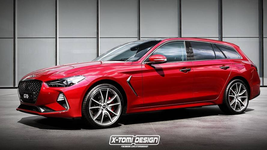 Genesis G70 Wagon Is Under Consideration
