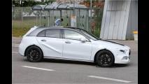 Erwischt: Mercedes A-Klasse