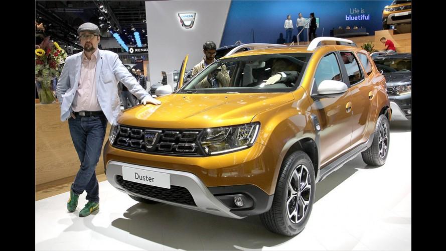 Sitzprobe: Dacia Duster