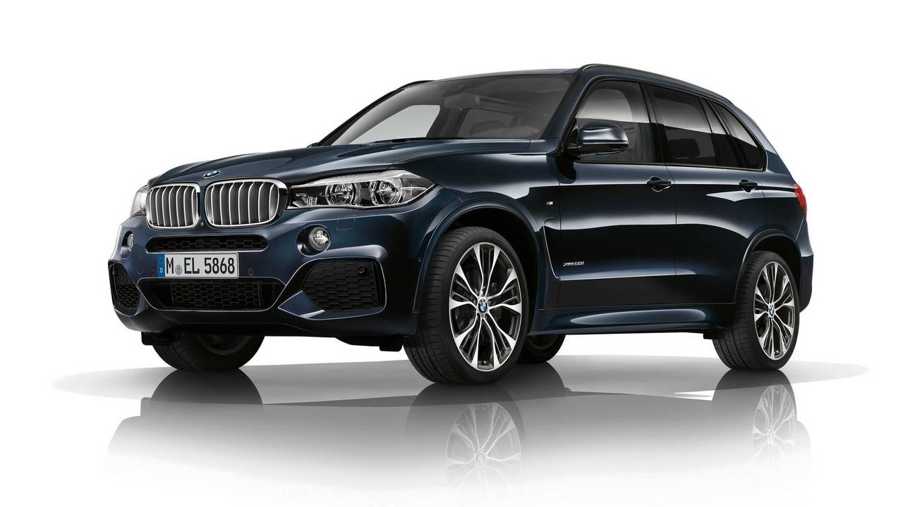 BMW introduced the new M-version X5 and X6