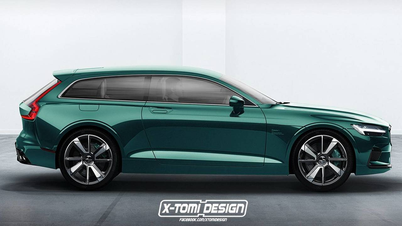 Polestar 1 Shooting Brake Render