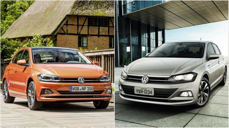Volkswagen Polo - Brasileiro x Europeu