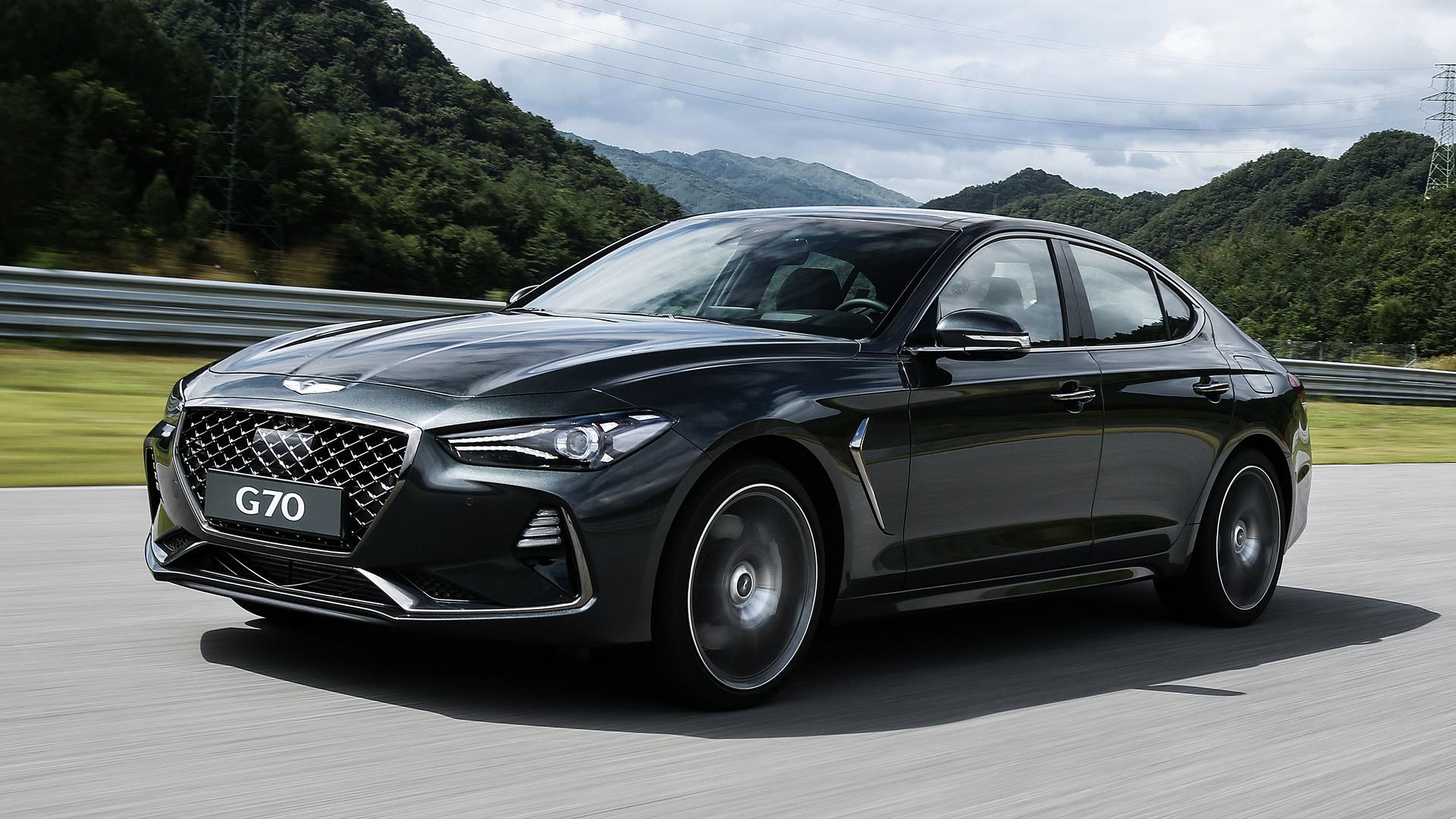 2019 Genesis G70 First Drive Confoundingly Good